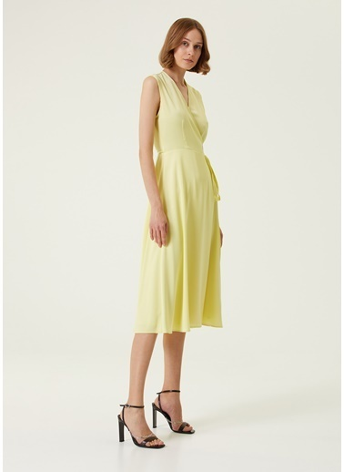 Academia Elbise Sarı